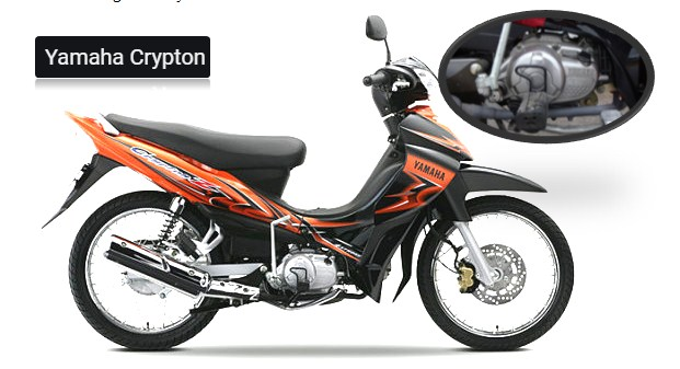 2022 Yamaha Crypton Specification
