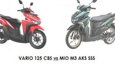 2022 VARIO 125 CBS vs MIO M3 AKS SSS