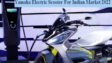 2022 Yamaha Electric Scooter For Indian Market