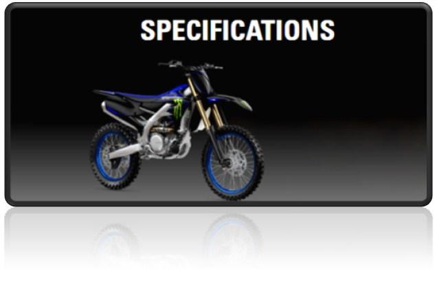 2021 Yamaha Yz450f Specs