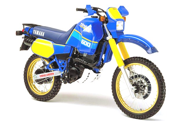 2021 History Yamaha XT600Z